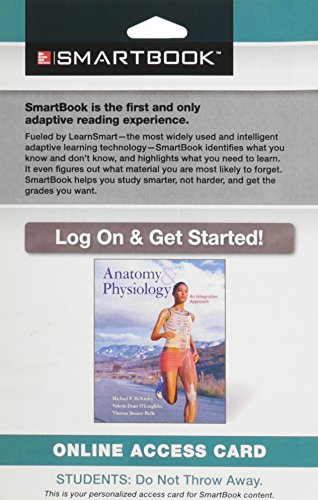 9781259141973: SmartBook Access Card for Anatomy & Physiology: An Integrative Approach