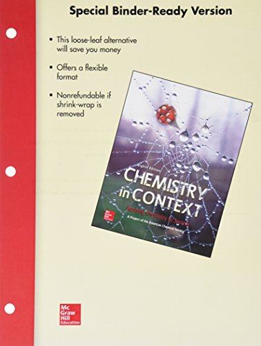 9781259142833: Combo: Loose Leaf Chemistry in Context with Connect Access Card