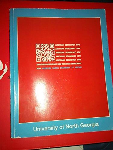 9781259143298: American Democracy Now ( University of North Georgia)