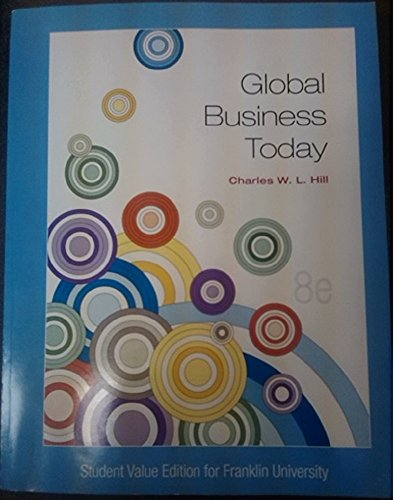 9781259143519: Global Business Today