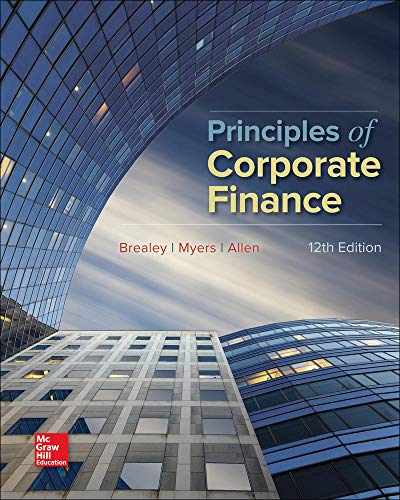 9781259144387: Principles of Corporate Finance (Mcgraw-hill/Irwin Series in Finance, Insurance, and Real Estate)