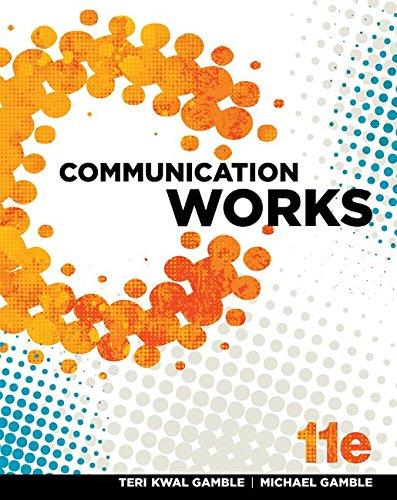 9781259144509: Looseleaf for Communication Works