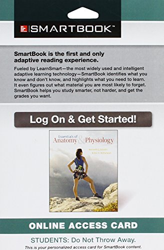 9781259145711: SmartBook Access Card for Essentials of Anatomy & Physiology