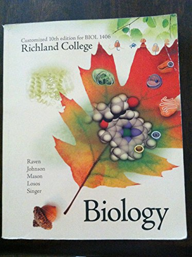 Biology Customized 10th Edition for Richland College: Peter Raven; George