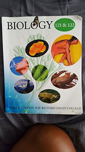 9781259146114: Biology 121 & 122 Special Edition For Richard Daley College
