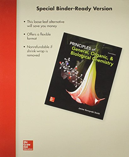 9781259149030: Loose Leaf Principles of General, Organic & Biological Chemistry with Connect Access Card