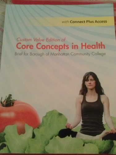 9781259149313: Custom value edition of core concepts and health