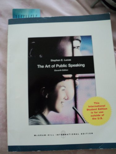 9781259151712: The Art of Public Speaking