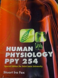 9781259152610: Human Physiology PPY 254, Special Edition for Saint Louis University