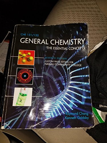 9781259156618: General Chemistry the Essential Concepts Seventh Edition (Custom Value Edition for Nassau Community College) with CONNECTPLUS access code