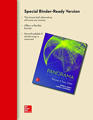 9781259156861: Looseleaf for Panorama: A World History Volume 2: From 1300