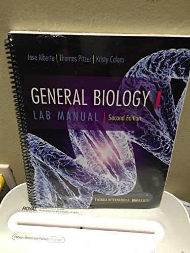 9781259158841: General Biology 1 Lab Manual Second Edition