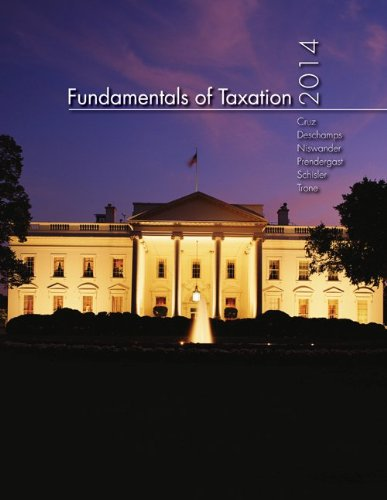 9781259162336: MP Fundamentals of Taxation 2014 Edition with TaxAct Software CD-ROM