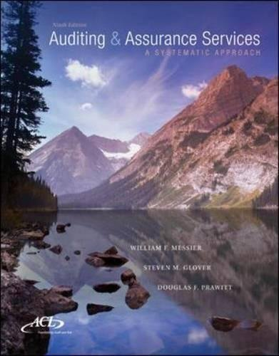 MP Auditing & Assurance Services w/ ACL: William Messier Jr,