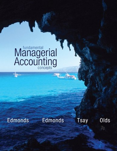 9781259162992: Fundamental Managerial Accounting Concepts with Connect Plus