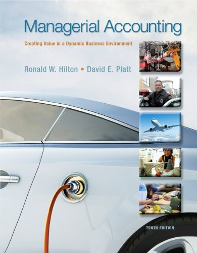 Managerial Accounting with Connect Access Card: Ronald W Hilton