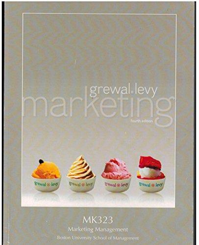 9781259163746: Marketing fourth edition; MK323 Marketing Management; Boston University School of Management