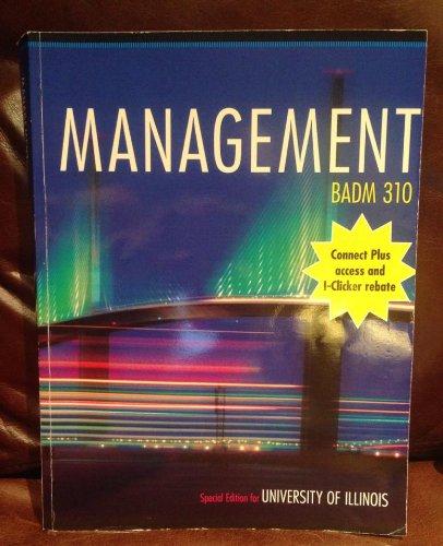 Contemporary Management Eighth Edition: BADM 310 University: Gareth R. Jones,
