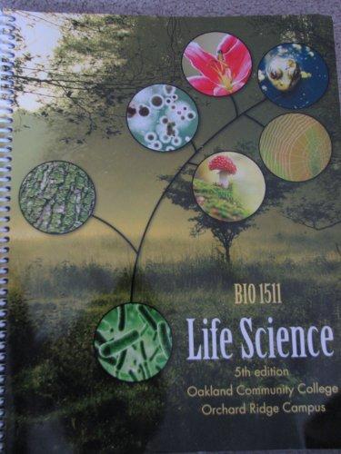 9781259167089: Oakland Community College BIO 1511 Life Science Lab Manual/workbook