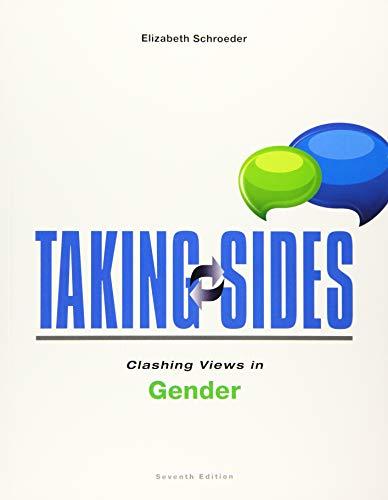 9781259171031: Taking Sides: Clashing Views in Gender