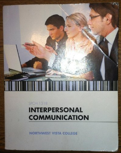 9781259172069: INTERPERSONAL COMMUNICATION