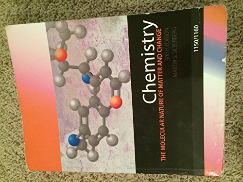 9781259174735: Chemistry the Molecular Nature of Matter and Change Sixth Edition (Purdue University Edition)