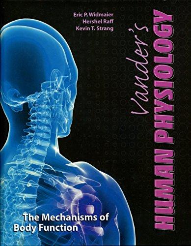 9781259175107: VANDER'S HUMAN PHYSIOLOGY >CUSTOM<