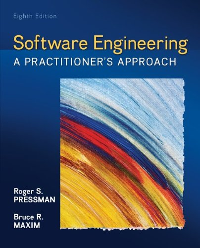 Software Engineering [Jan 29 2014] Pressman Roger