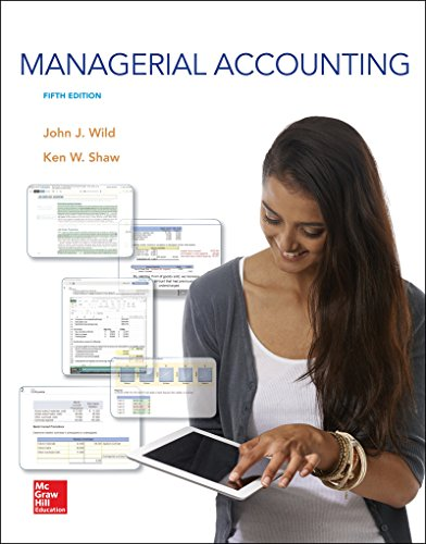 9781259176494: Managerial Accounting