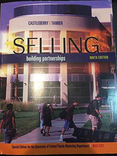 9781259177569: Selling: Building Partnerships UCF MAR3391