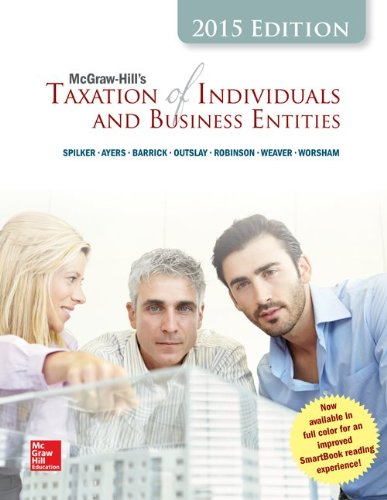 9781259179211: McGraw-Hill's Taxation of Individuals and Business Entities, 2015 Edition with Connect Access Card