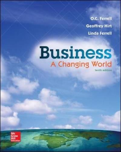 9781259179396: Business: A Changing World - Standalone Book