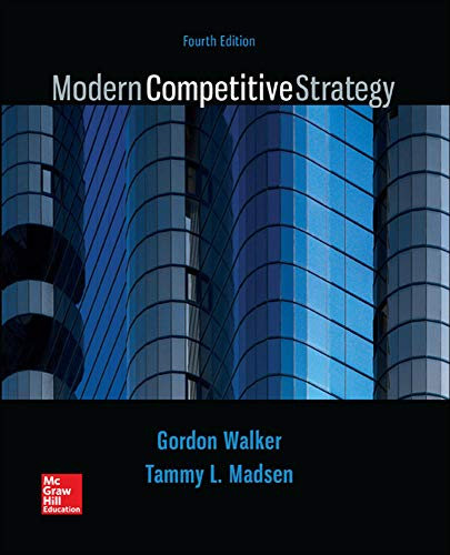 9781259181207: Modern Competitive Strategy (Irwin Management)