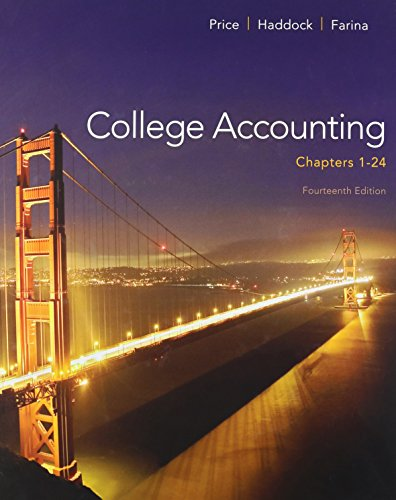 9781259181771: College Accounting Chapters 1-24 with Connect Access Card