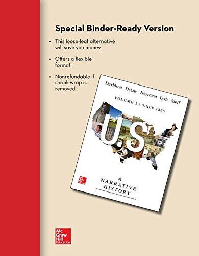 Looseleaf for US: A Narrative History, Volume: Davidson, James West;