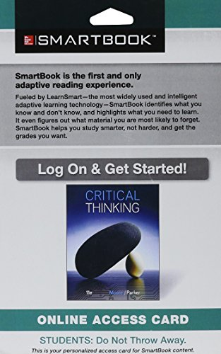 9781259181931: SmartBook Access Card for Critical Thinking