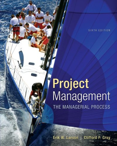 9781259186400: Project Management: The Managerial Process with MS Project (McGraw-Hill Series Operations and Decision Sciences)