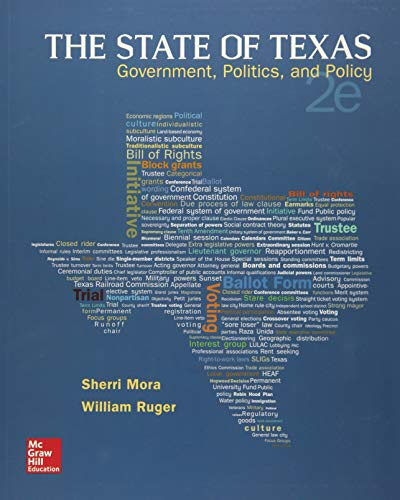 9781259187018: The State of Texas: Government, Politics, and Policy (B&B Political Science)