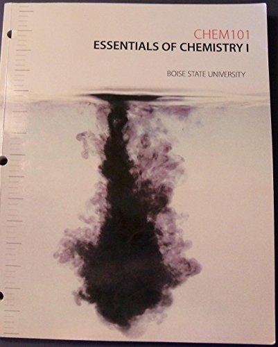 9781259187070: Essentials of Chemistry - Chem 101 Boise State University