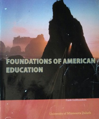 9781259188688: Foundations of American Education
