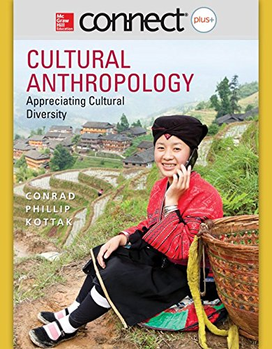 9781259190100: Connect Access Card for Cultural Anthropology 16/e