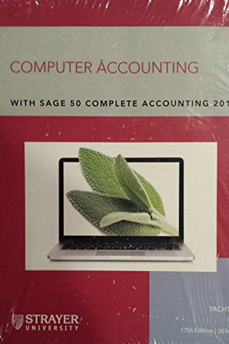 9781259191299: Computer Accounting With Sage 50 Complete Accounting 2013 (Custom Edition for Strayer University)