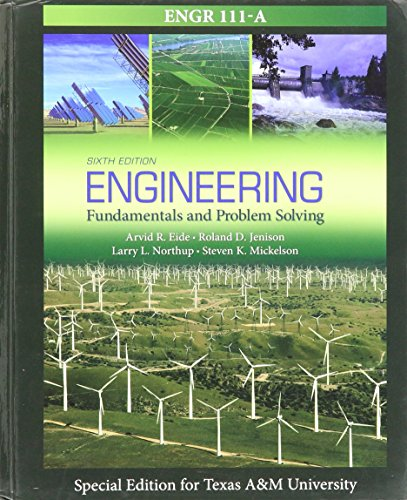9781259191749: Engineering Fundamentals & Problem Solving