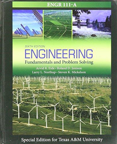 9781259191749: Engineering Fundamentals & Problem Solving