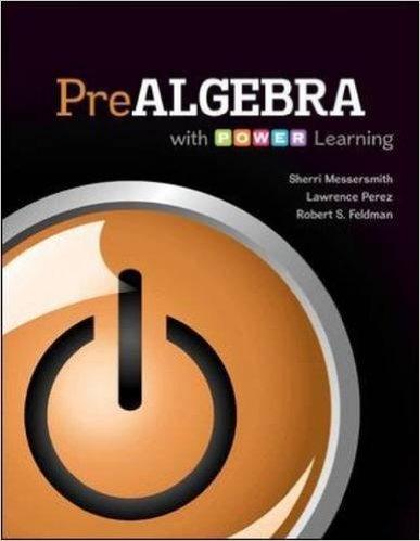 9781259192166: Prealgebra Math 351