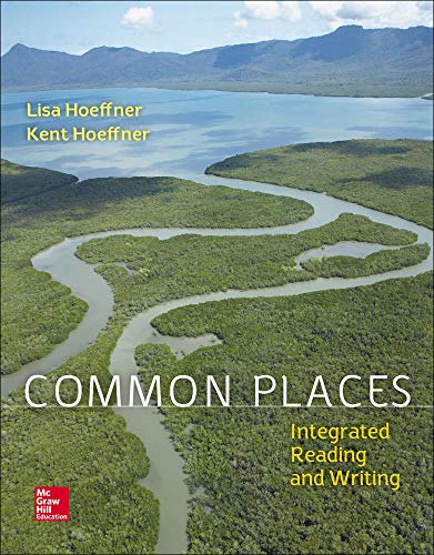9781259192234: Common Places: Integrated Reading and Writing
