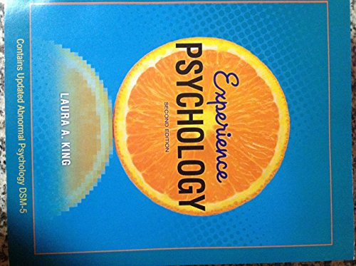 9781259194269: Experience Psychology Second Edition - Contains Updated Abnormal Psychology Dsm-5