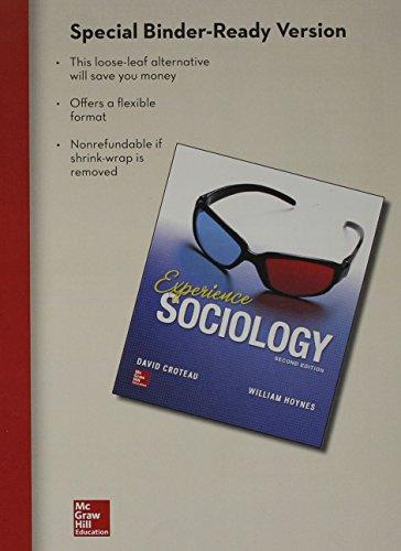 9781259196386: LooseLeaf for Croteau Experience Sociology 2e