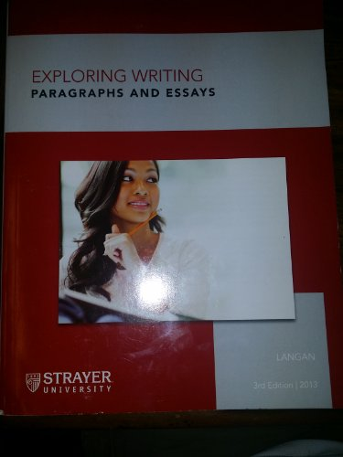 9781259197277: Exploring Writing Paragraphs and Essays Strayer University