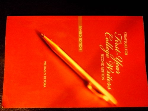 9781259198335: Strategies for First Year College Writers Second Edition